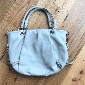 Vince Camuto beige leather purse
